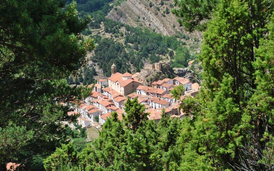 Vista de Linares desde la montaña