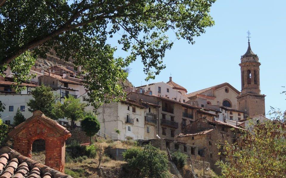 Linares de Mora desde el Loreto