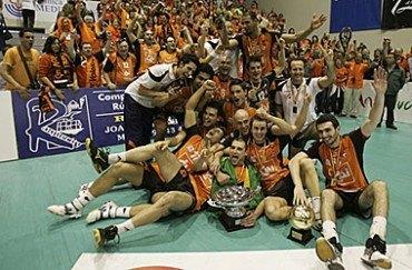 El CAI Teruel campeón de la Superliga nacional de Voleibol