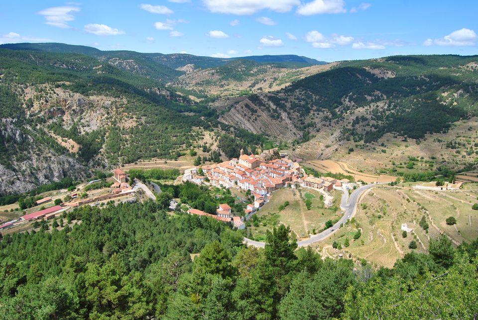 Vista de Linares y de su entorno
