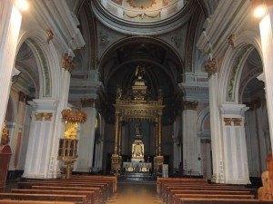 Interior de la Iglesia parroquial de la Inmaculada