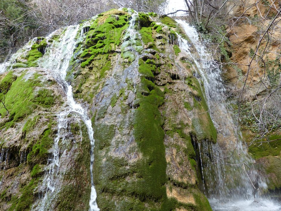 Cascada en el Molinete