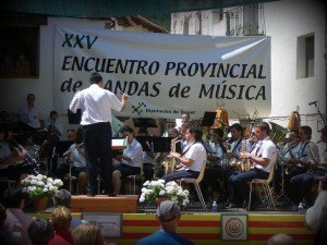 Encuentro de Bandas celebrado en Linares en el 2008