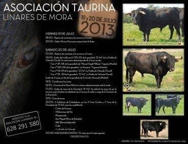 Fiesta de la Asociación Taurina de Linares de Mora 2013