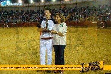 """Juan Gimeno """"Bananas"""" gana el Concurso Nacional de Recortadores de Teruel"""