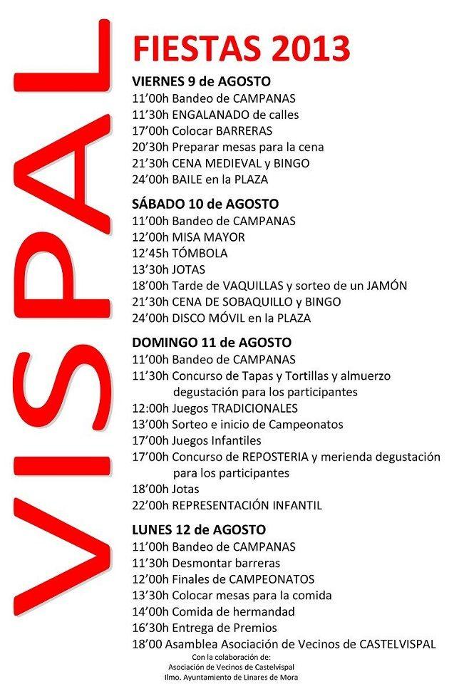 Fiestas de Castelvispal 2013
