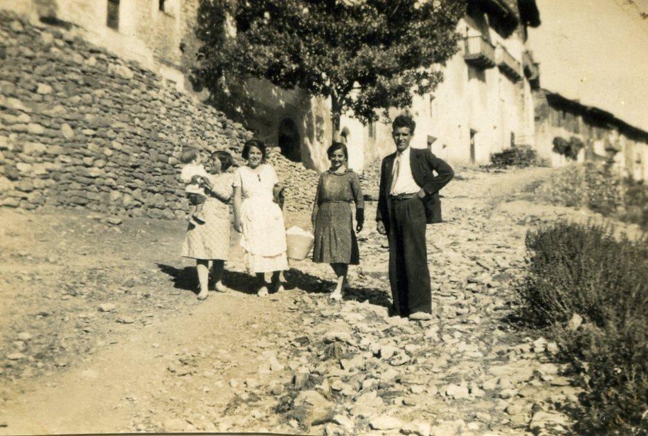 Imagen antigua de Linares de Mora