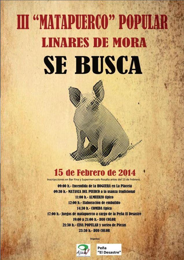 II Matacerdo Linares de Mora