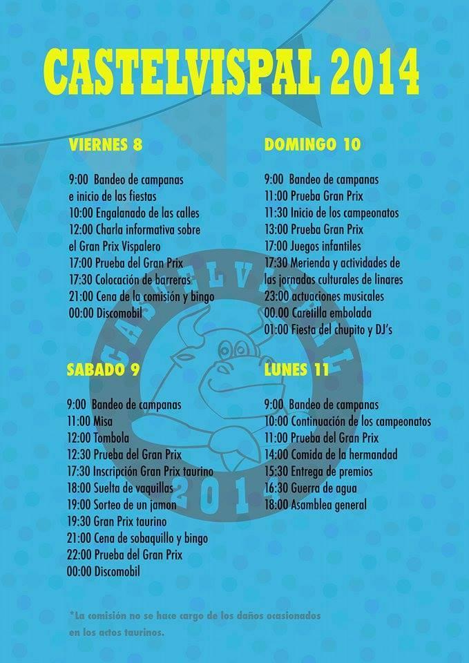 Fiestas de Castelvispal 2014