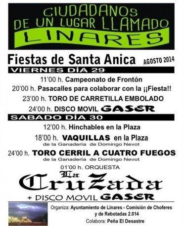 Fiesta de Santa Anica 2014, días 29 y 30 de agosto