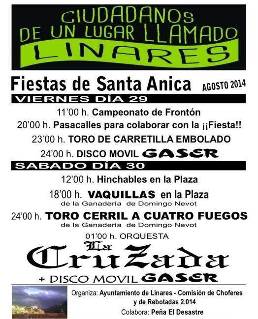 Fiesta de Santa Anica 2014