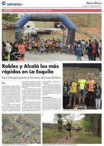 Reportaje sobre La Esquila en Diario de Teruel