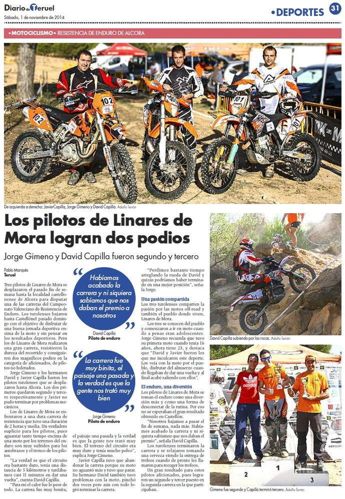 Los Pilotos de Linares en el Campeonato de Alcora
