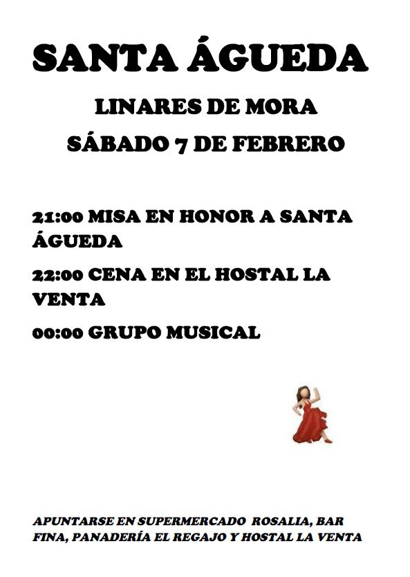 Santa Águeda 2015