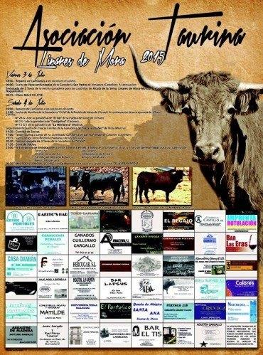 Fiesta de la Asociación Taurina de Linares de Mora 2015