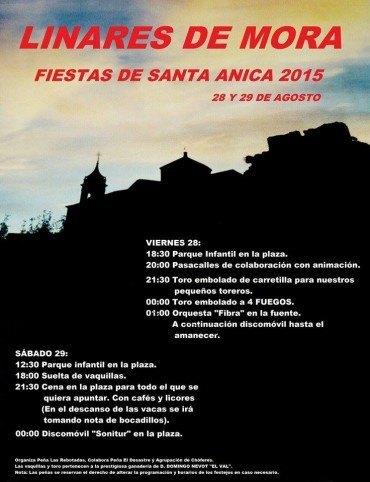 Fiestas de Santa Anica 2015