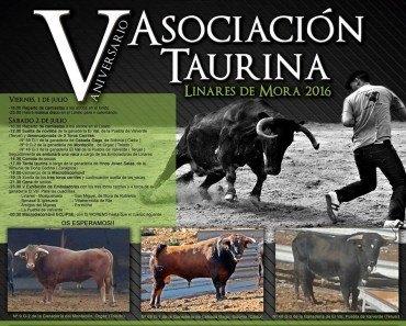 V Aniversario Asociación Taurina de Linares de Mora
