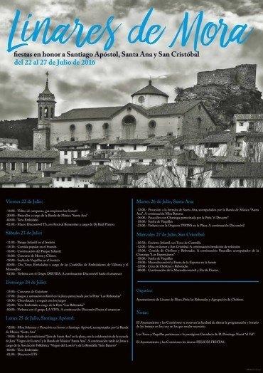 Fiestas en honor a Santiago Apóstol, Santa Ana y San Cristóbal 2016