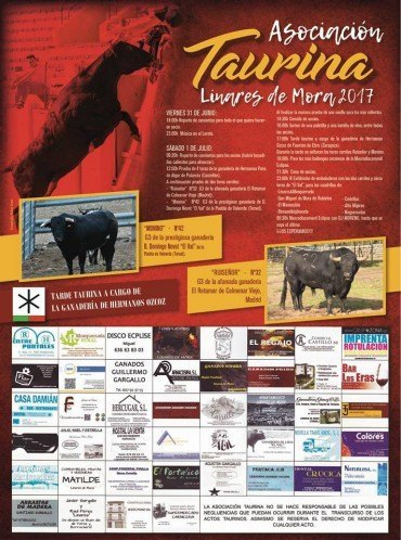 Fiesta de la Asociación Taurina 2017
