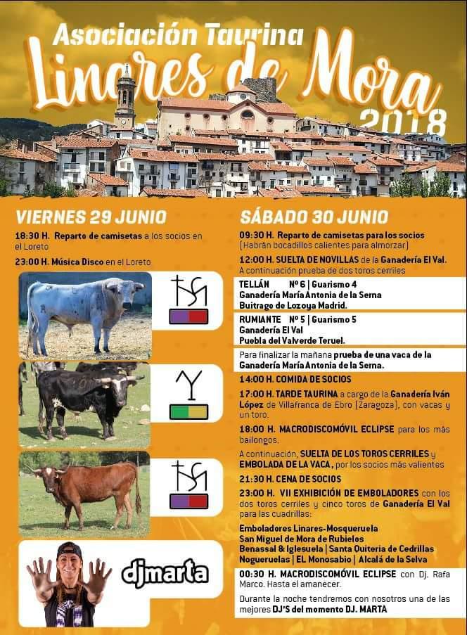 fiesta asociacion taurina linares 2018